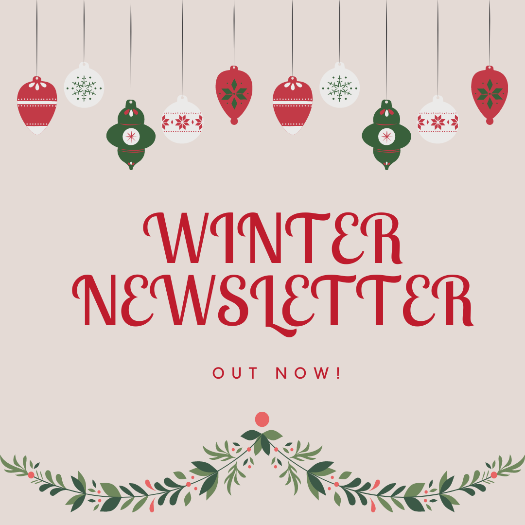 Our Winter 2020 Newsletter is Out!