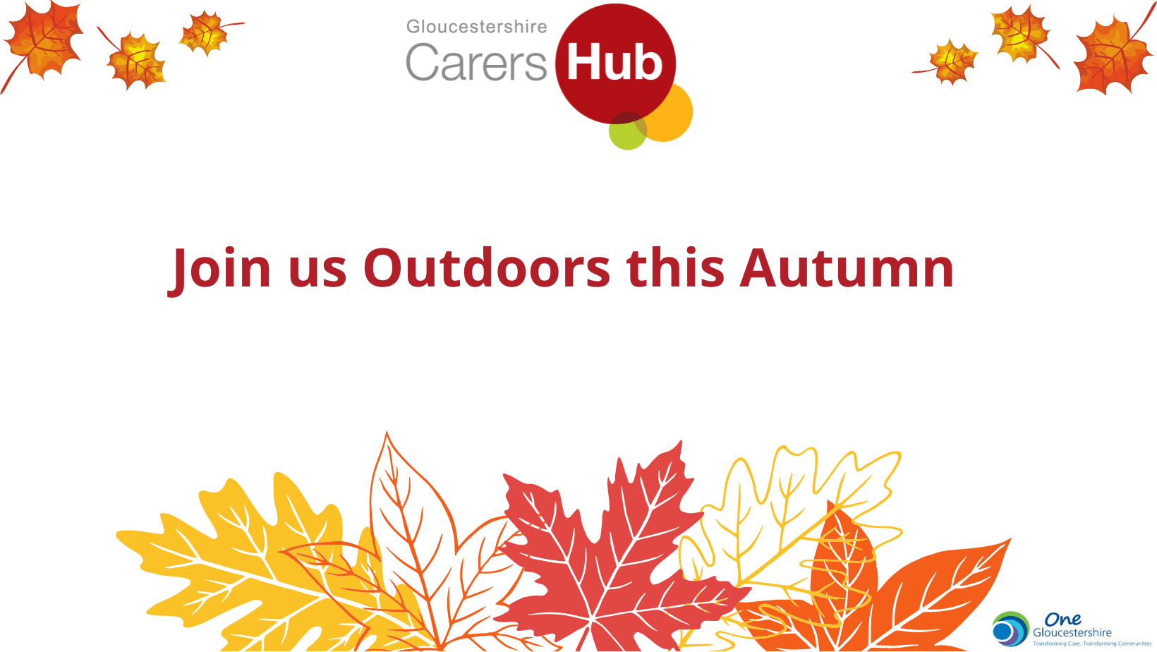 Join Us Outdoors this Autumn
