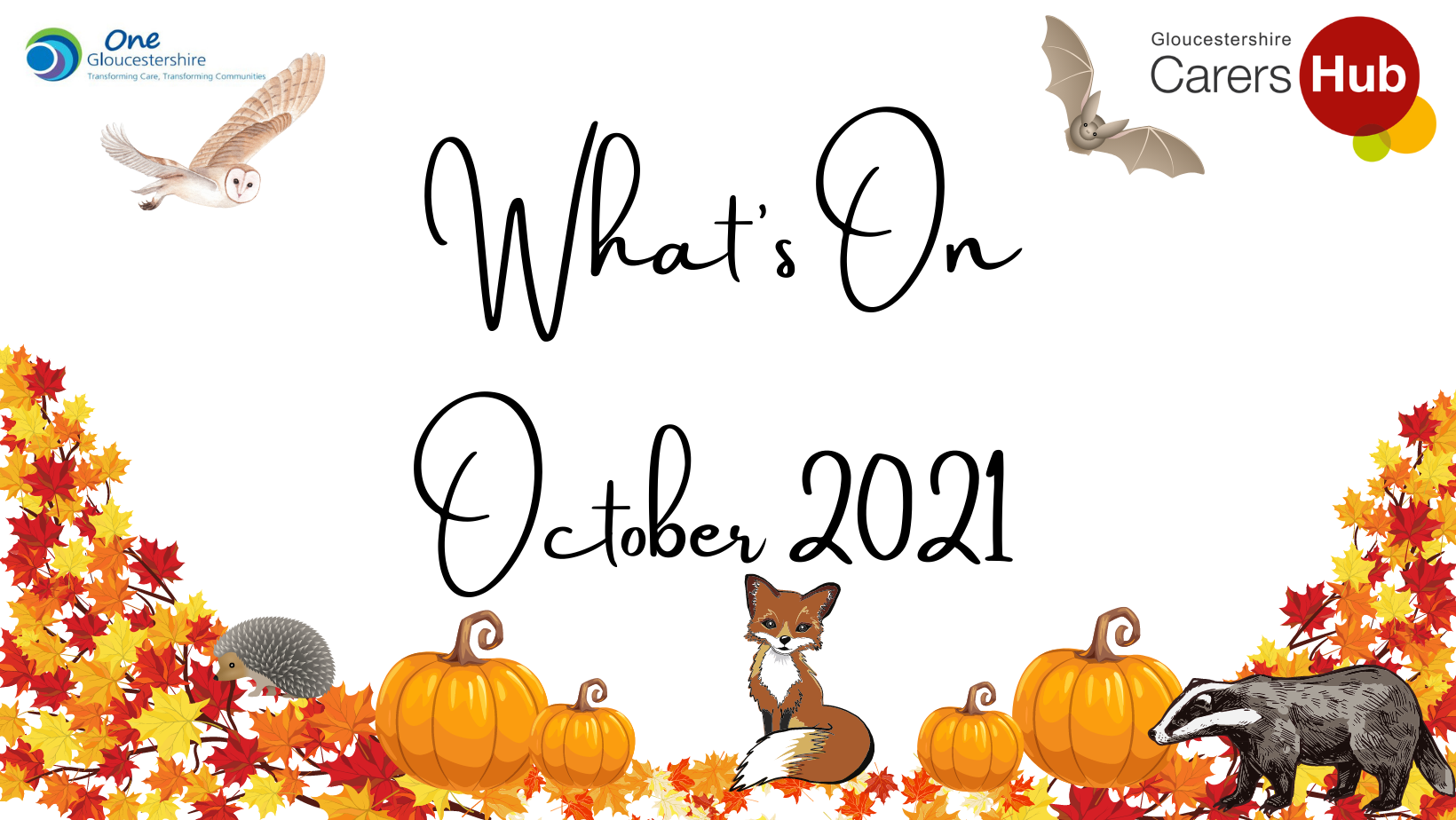 What's On October 2021 – Try something new this Autumn
